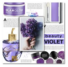 """~ Violette  ~"" by dolly-valkyrie ❤ liked on Polyvore featuring beauty, Clinique, Lolita Lempicka and GlamGlow"