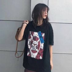 Aesthetic Fashion, Aesthetic Clothes, Loose Shirt Outfit, Tumblr Outfits, Loose Shirts, Colourful Outfits, Kawaii Fashion, Outfit Goals, Grunge Fashion