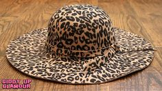 Leopard Floppy Hat | This is a must have for every fashionista! | $26.95