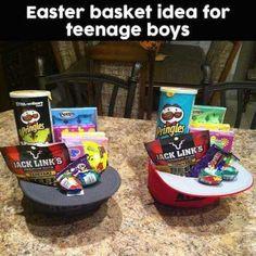 Easter basket for girlfriendboyfriend im so hoppy youre in my easter basket for teen boys negle Images