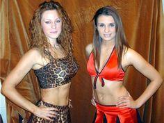 British female wrestlers Lisa King and Minx (Sarah Jones) http://womensprowrestling.blogspot.com/2007/09/uk-wrestler-minx.html