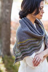 Ravelry: Kelpie pattern by Jared Flood. Mini skein inspiration.
