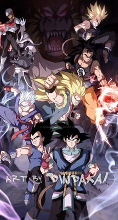 Dragon Ball Z, Gogeta E Vegito, Character Concept, Character Design, Foto Do Goku, Gohan, Epic Characters, Star Wars Clone Wars, Digimon