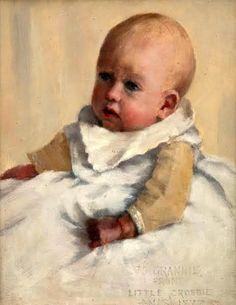 Little Crosbie-Norman Garstin (1847 – 1926, Irish)
