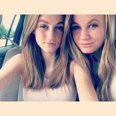 The Sisters : Mackenzie Lintz and Madison Lintz ♥ Perfect Madison Lintz, Long Hair Styles, Beauty, Sisters, Girls, Toddler Girls, Daughters, Long Hairstyle, Maids