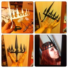 Made one more Sauron crown (Phobs's design). Angband!<<<So cool!