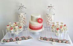 wedding cupcakes coral - Google Search