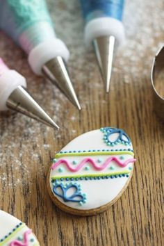 Traditional Rolled Sugar Cookies with Royal Icing