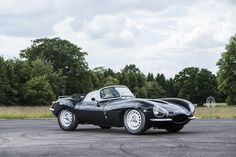 "1967 Jaguar XKSS ""Lynx,"" estimate $512,000 to $590,000."