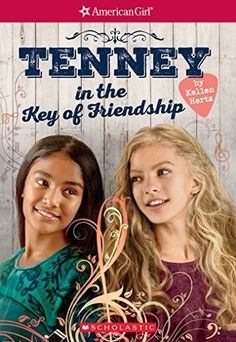 Interview with American Girl® author Kellen Hertz - (plus an American Girl ® Tenney Grant, book series giveaway! American Girl Books, Chapter Books, Book Girl, School Fun, How To Raise Money, Book Series, Good Books, Children's Books, Friendship