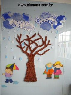 24 Ideias de Mural para Inverno - Educação Infantil - Aluno On Easy Crafts, Diy And Crafts, Crafts For Kids, Arts And Crafts, Winter Activities, Toddler Activities, Winter Project, School Decorations, Happy Day