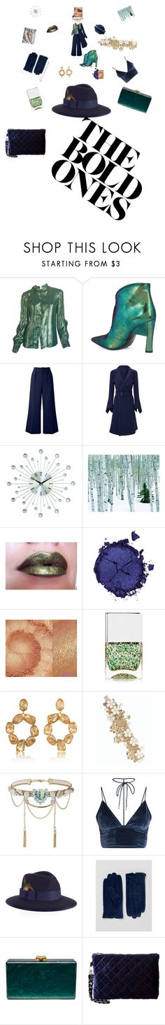 """""""Entrepreneur Holiday Spirit"""" by sinmrn ❤ liked on Polyvore featuring Adolfo, Marni, Roland Mouret, Pat McGrath, Nails Inc., Tory Burch, Talbots, Miss Selfridge, Christys' and Barney's Originals"""