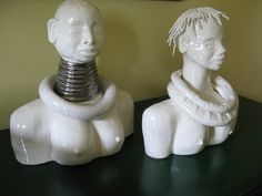 African heads