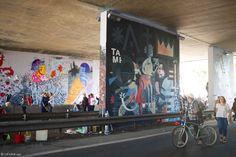 The Bridge – Un festival de street art s'invite sous le pont d'une autoroute fermée (image)