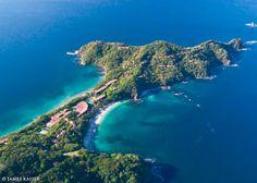 En la península de Papagayo, en Guanacaste, hay dos playas poco conocidas:  Blanca y Virador.