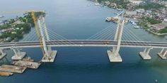 Jembatan Merah Putih, Pantai Poka,  Kota Ambon