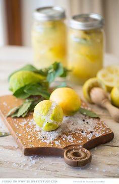 Preserved Lemon {Recipe} - Recipe, testing & preparation: The Food Fox, Photos: @Tasha Seccombe
