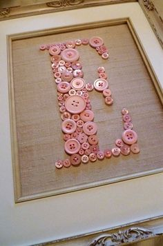 Another monogram idea for your room!