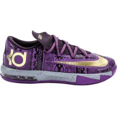 Nike KD VI (Kids) ($159) ❤ liked on Polyvore featuring shoes, sneakers, kd, nike and kids