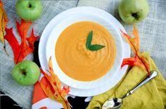 Creamy Vegan Carrot and Tart Apple Soup