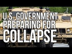U.S. Government Preparing for Collapse (and Not in a Nice Way)