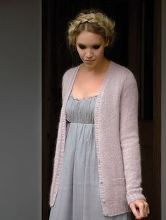 Ravelry: Esme pattern by Kim Hargreaves. Lovely, simple and sophisticated.