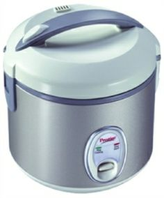 PRESTIGE PRWC 1.0 ELECTRIC COOKER Rice Cooker 1 L Capacity 400 W Consumption Cooking and Steaming offered by www.shopit4me.com Online Bidding, Electric Cooker, Rice Cooker, Home Decor Furniture, Consoles, Brand Names, Auction, Bring It On, Console