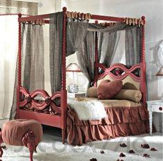 #bed #Кровать с балдахином Bitossi Luciano Monamour Night&Day - 3002