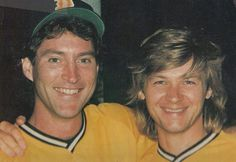 so young.they both are even more handsome now.~kahy~Drake Hogestyn and Stephan Nichols - Days of our Lives softball team Soap Opera Stars, Soap Stars, Bold And The Beautiful, Beautiful Boys, Drake Hogestyn, Roman, Casting Pics, Best Love Stories, Days Of Our Lives