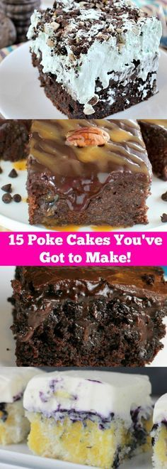 Poke Cakes You've Just Got to Make!