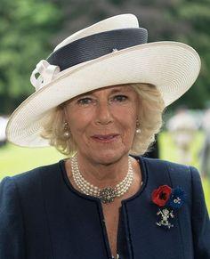 Duchess of Cornwall, July 1, 2016 in Philip Treacy | Royal Hats