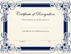 Free Printable Certificate Templates For Teachers | Besttemplate123