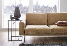 Cherished gold: CARLTON sofa in golden beige fabric http://www.boconcept.com/en-gb/furniture/living/sofas