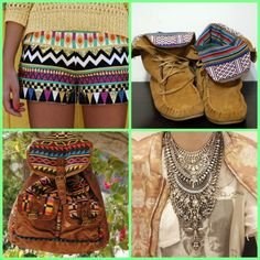 na moda 2013 acessorios etnicos tendencia tribal