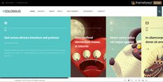This WordPress theme from Themeforest makes me laugh and smile. It's neat. It serves one purpose - presenting to you, its most recent content. If you're a daily blog writer, then this is for you. http://themeforest.net/item/colossus-minimal-creative-blog-theme/full_screen_preview/5613502?ref=CraftWebSolutions