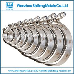 Aliexpress.com: Comprar 2 '' 5'' Kit 304 de acero inoxidable abrazadera V Banda brida de flanger fiable proveedores en Wenzhou Shifeng Metals Co., Ltd.