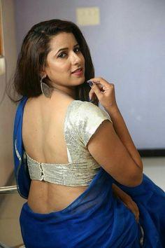 Shravya Reddy Photos including Actress Shravya Reddy Latest Stills Cute Beauty, Beauty Full Girl, Beauty Women, Blouse Back Neck Designs, Blouse Designs, Beautiful Saree, Beautiful Indian Actress, Beautiful Roses, Hot Girls