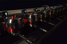 The amazing 9 group hydra Synesso. What a machine! #specialty #coffee