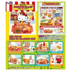 Re-ment HK Hamburger Shop