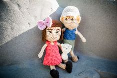 Get your Furls hook and yarn and get ready to create a new best friend! This month for the Amigurumi CAL here at Furls Crochet we will be creating this sweet little Dolly and Pet Sidekick Pattern! You can customize this pattern to make a little girl or boy doll, simply by changing the hair and choosing the girl or boy