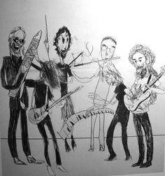 Hajo Mueller - Steven Wilson & band.