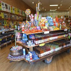 Rocket Fizz in @Downtown Boulder serves up strange soda flavors and nostalgic candy.