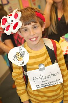 Science vocabulary parade