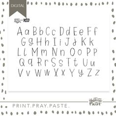 Print out this adorable print, pray, trace designed by Taylor Rauschkolb of Brave Little Taylor as a fun tool to illustrate your faith! Now you can literally trace her handwriting to build titles for your own Bible! (1) PDF file will be included Digital Product Available For Immediate Download Perfect for Illustrated Faith & Bible Journaling For Personal Use Only