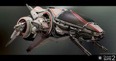 ArtStation - Bombus AG Fighter - Quixel SUITE 2.0, Wiktor Öhman