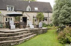 3 Bedroom Cottage in Great Rissington to rent from pw. With Log fire, Telephone, TV and DVD. Log Fires, Places To Go, England, Cottage, Cabin, Tv, Bedroom, Telephone, House Styles