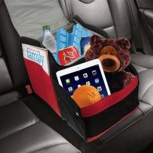 Expandable Back Seat Organizer & Insulated Cooler – Folds Flat