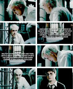 Harry Potter - Draco Malfoy - This was one of my favorite parts in the 6th movie... sigh: