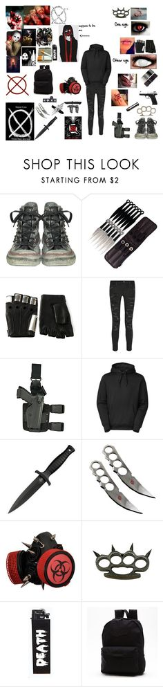 """""""The Unknown Kid #3"""" by theunknownkid ❤ liked on Polyvore featuring Converse, Majesty Black, Current/Elliott, Holster, The North Face, H.R., SCP, GAS Jeans, Spy Optic and INC International Concepts"""