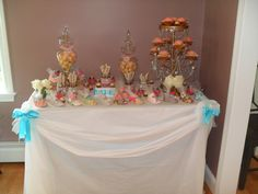 shabby chic beach theme baby shower ideas | Vintage Shabby Chic / Baby Shower / Party Photo: